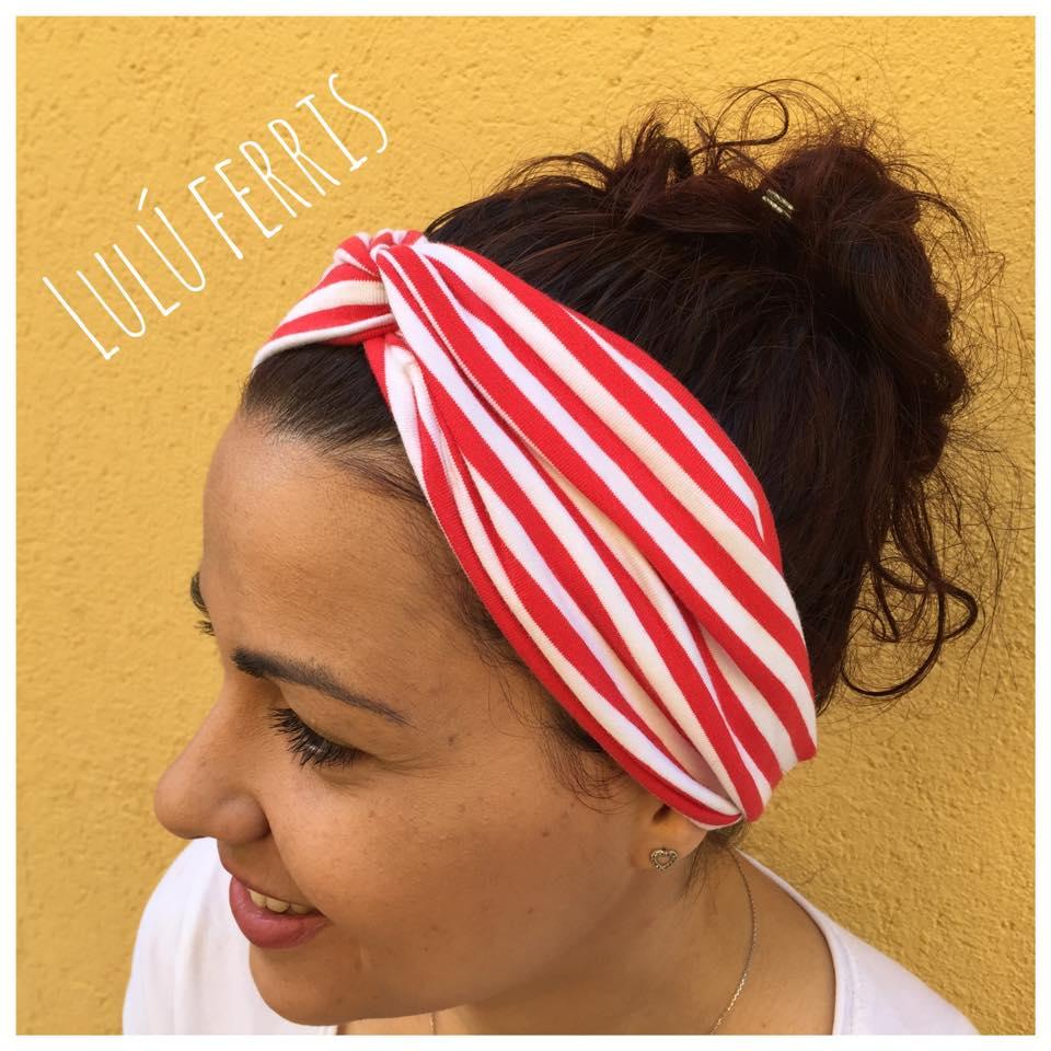 Accesorios para el pelo diy tienda talleres y cursos for Diademas de tela para el cabello