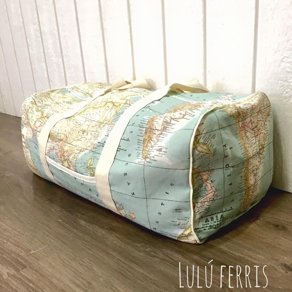 costura de viaje bolsa