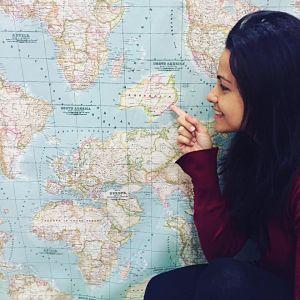 kit de viaje diy mapamundi