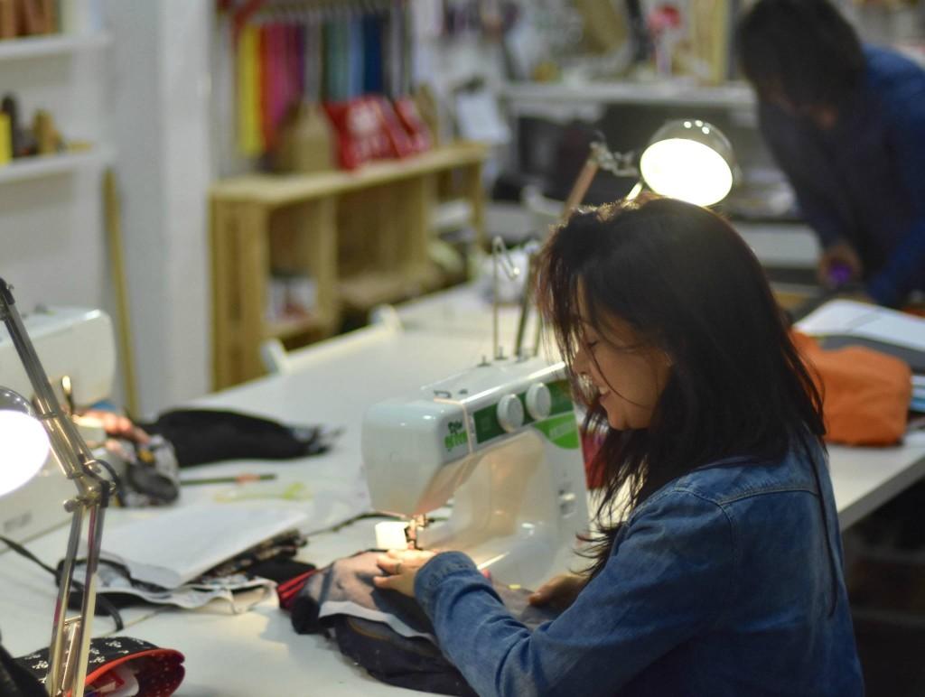 aprender a coser taller de costura privado