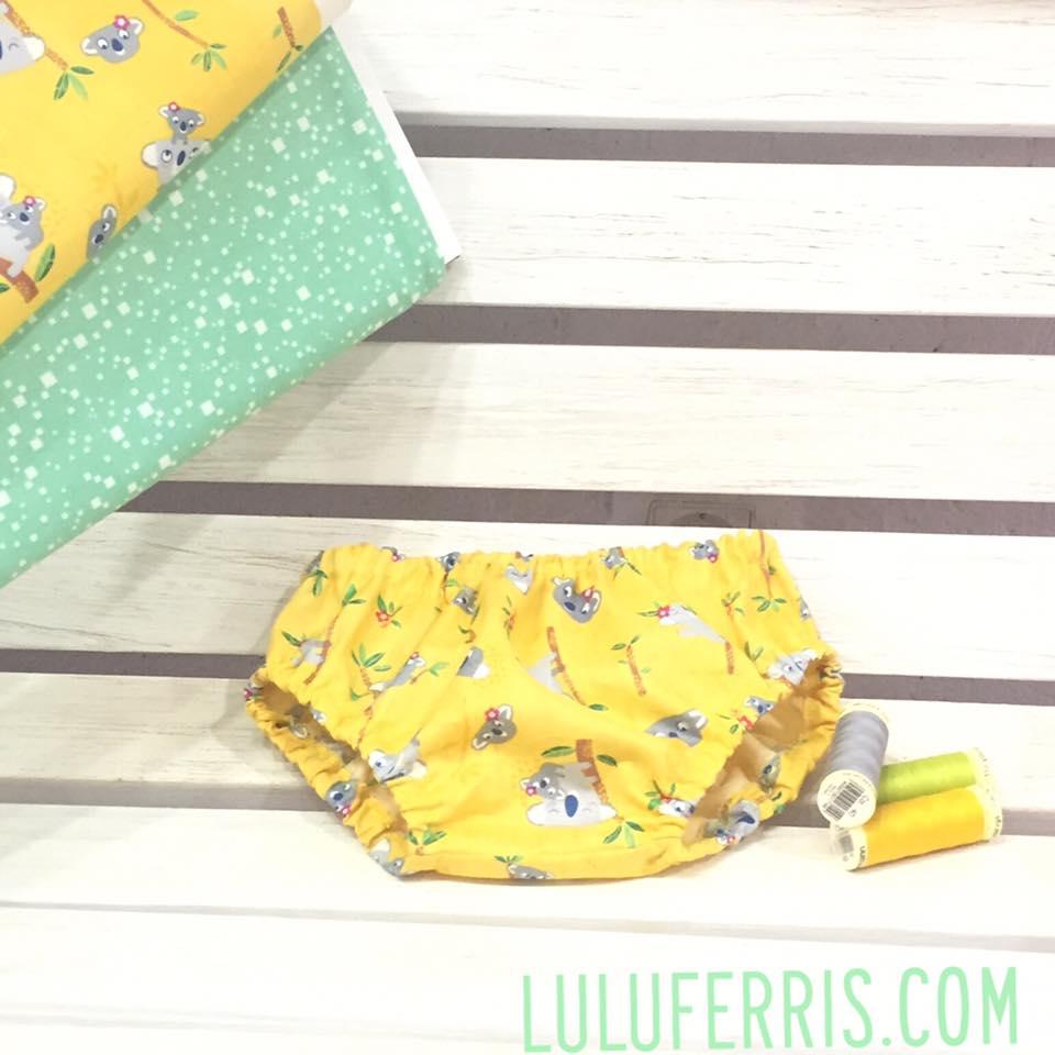 coser ropa interior bebe