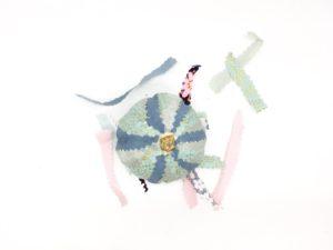 decoración de calabazas con tela