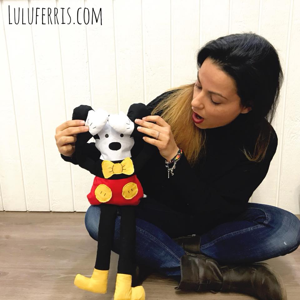 tutoriales de costura mickey mouse muñeco