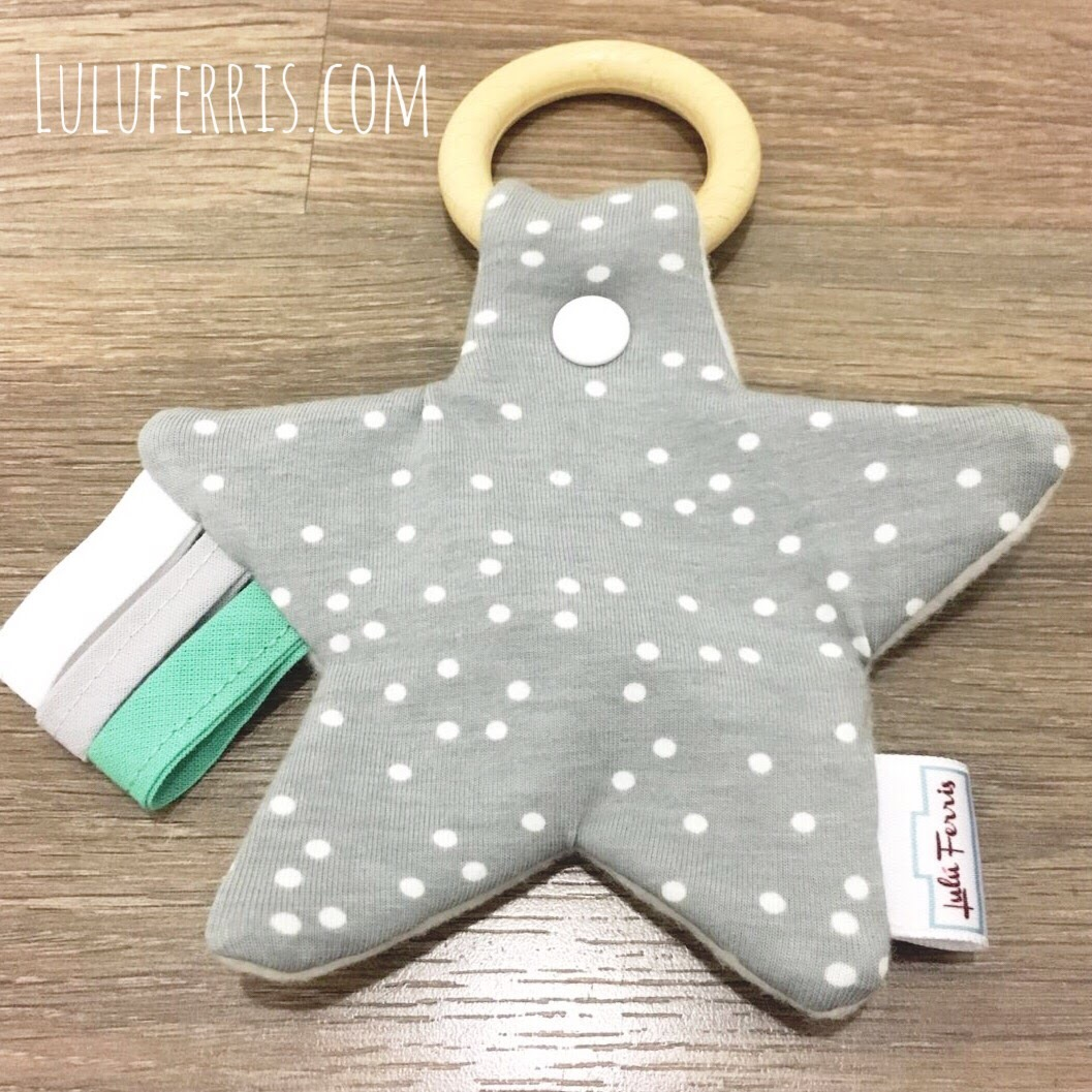 3 formas fáciles y bonitas de hacer un mordedor para bebé – Lulú Ferris