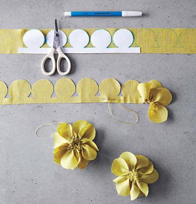 Cinco Tecnicas Para Hacer Flores De Tela 1