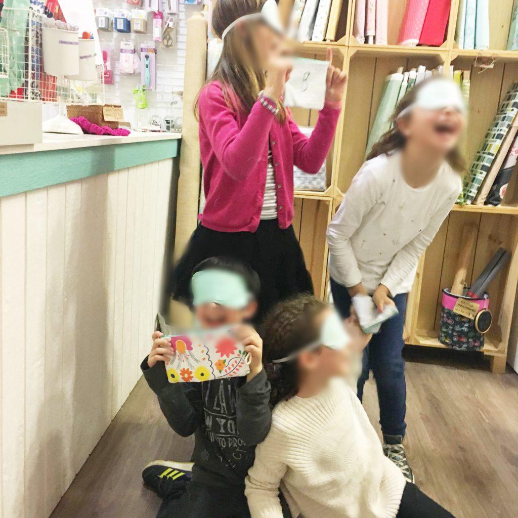clases presenciales de costura niños