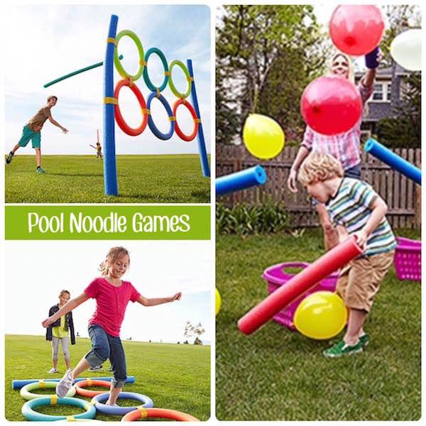 Cinco juegos diy para ni os especial verano tienda talleres y cursos de manualidades for Juegos para jardin nios