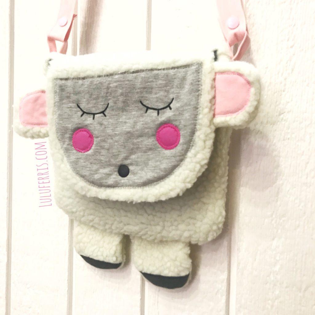 hacer un bolso infantil de oveja
