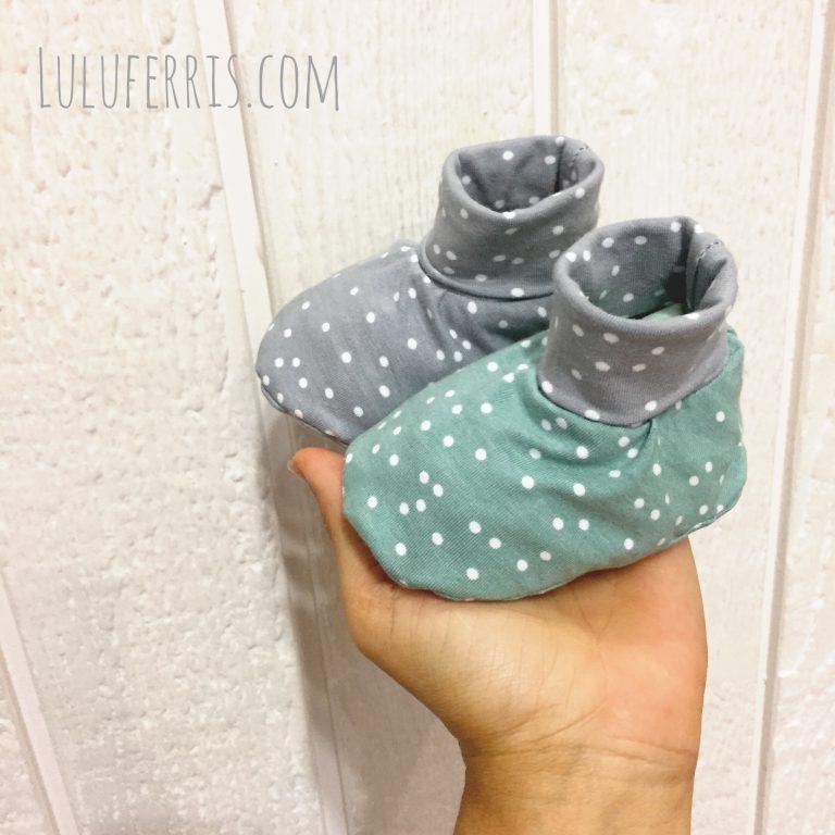 Botas para bebé reversibles y calentitas