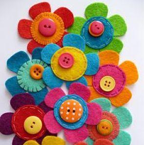 técnicas para hacer flores de tela