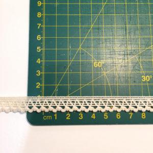 Puntilla cruda 1,2 cm