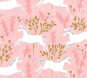 telas de cuento unicorn forest