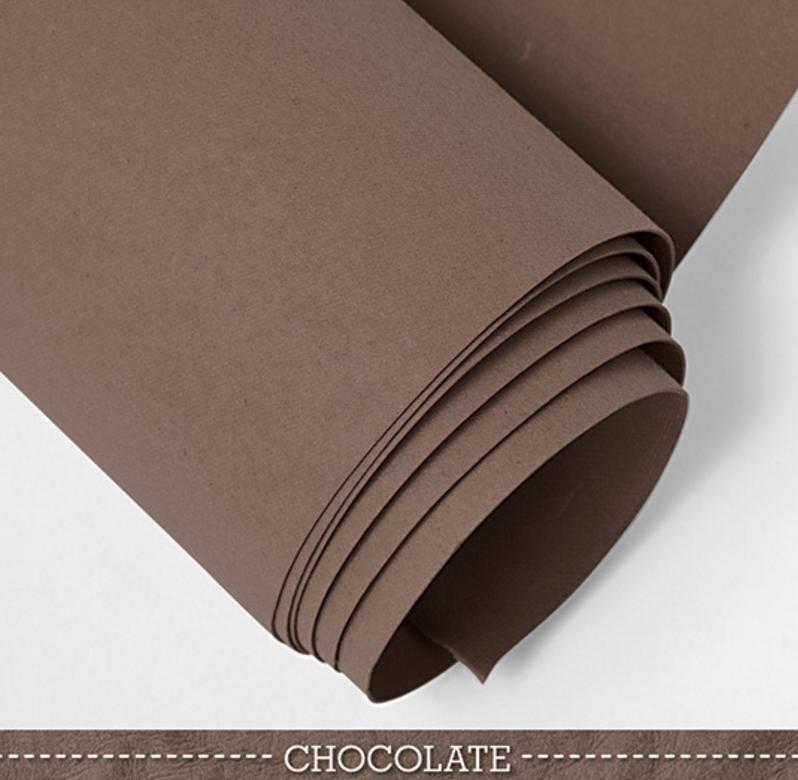 telas de color marrón kraft tex