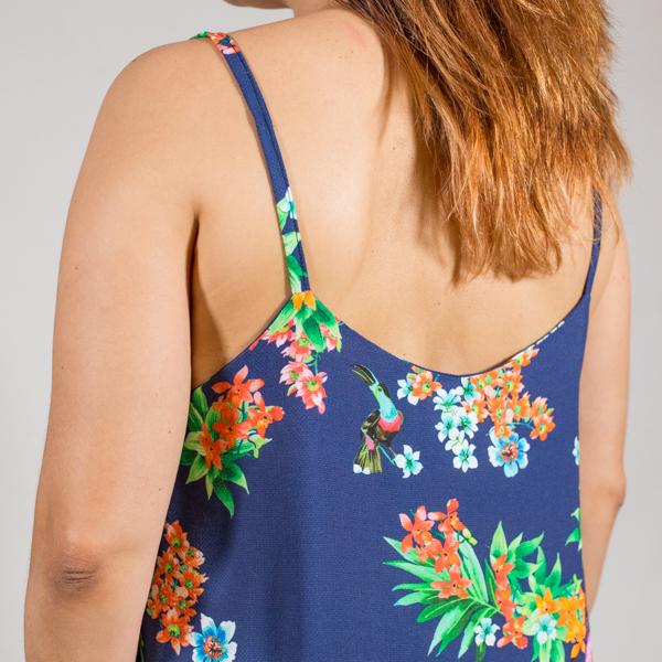 vestido largo verano espalda