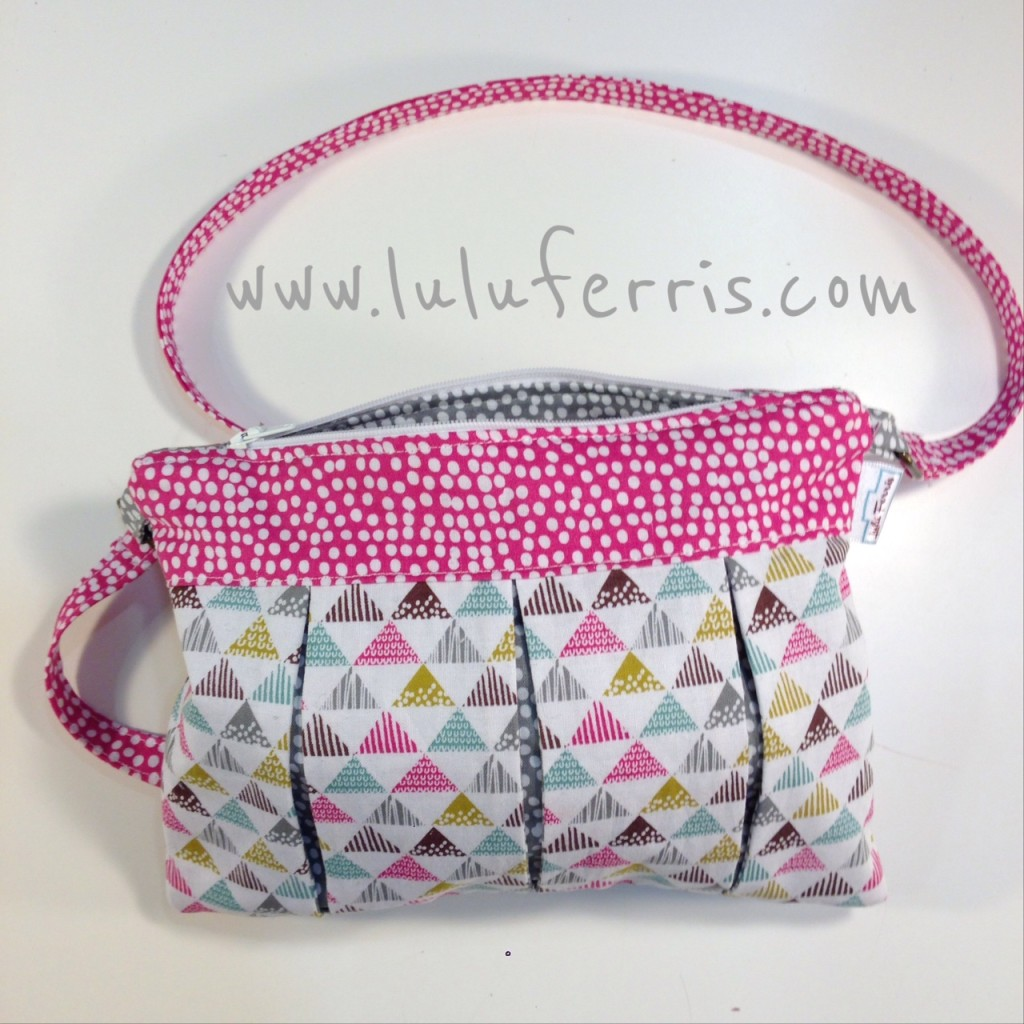 hacer un bolso con plisados