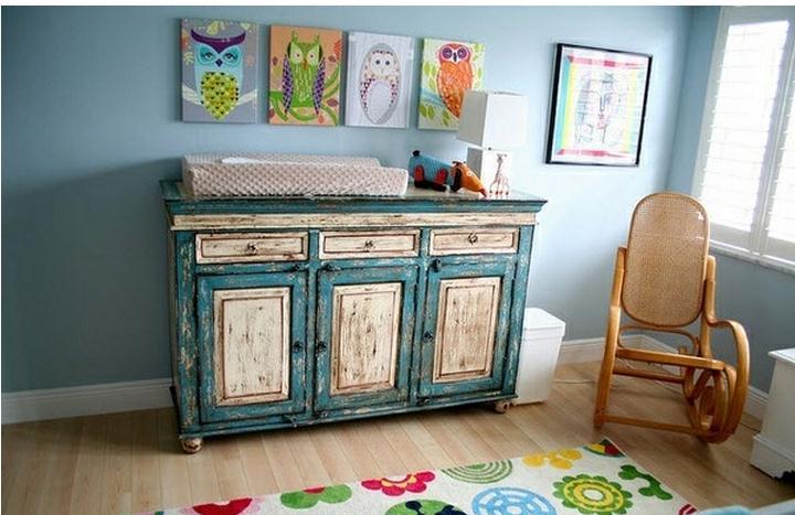 Objetos vintage para la habitaci n del beb for Objetos decoracion habitacion bebe