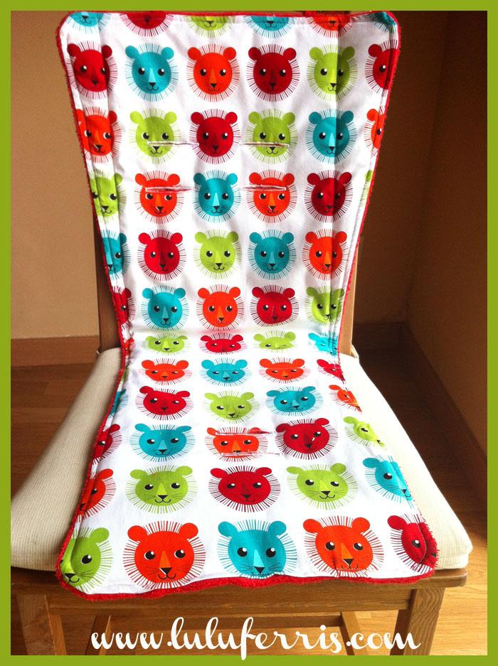Colchoneta reversible para silla de paseo tienda talleres y cursos de manualidades - Colchonetas para sillas de paseo originales ...