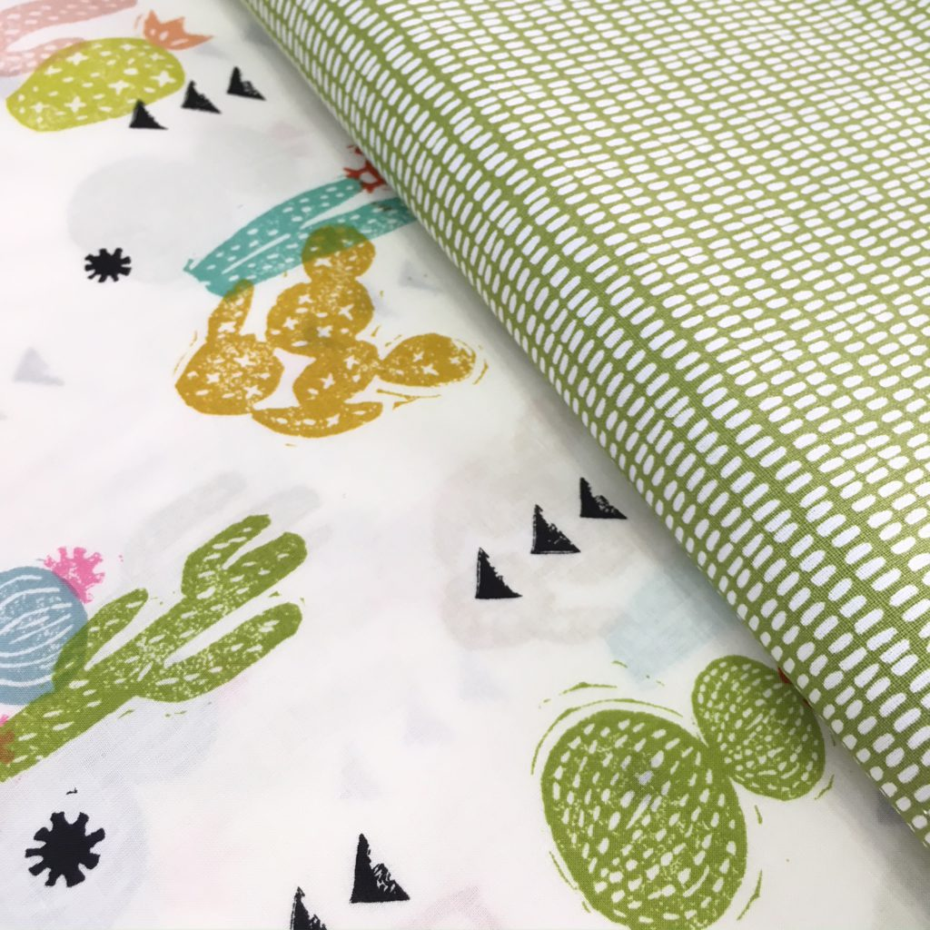 telas nuevas verde