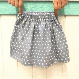 e8f96b891 Falda con bolsillos para niña (patrón de 0 a 8 años) – Tutorial de ...