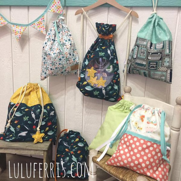 mochilas y bolsas multiusos por encargo