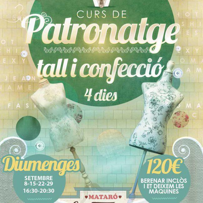 Patronaje corte y confecci n domingos septiembre tienda - Cursos de manualidades en madrid ...
