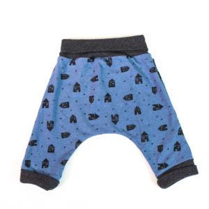Pantalón Cagado Para Bebé Y Niñoa Patrón Incluido