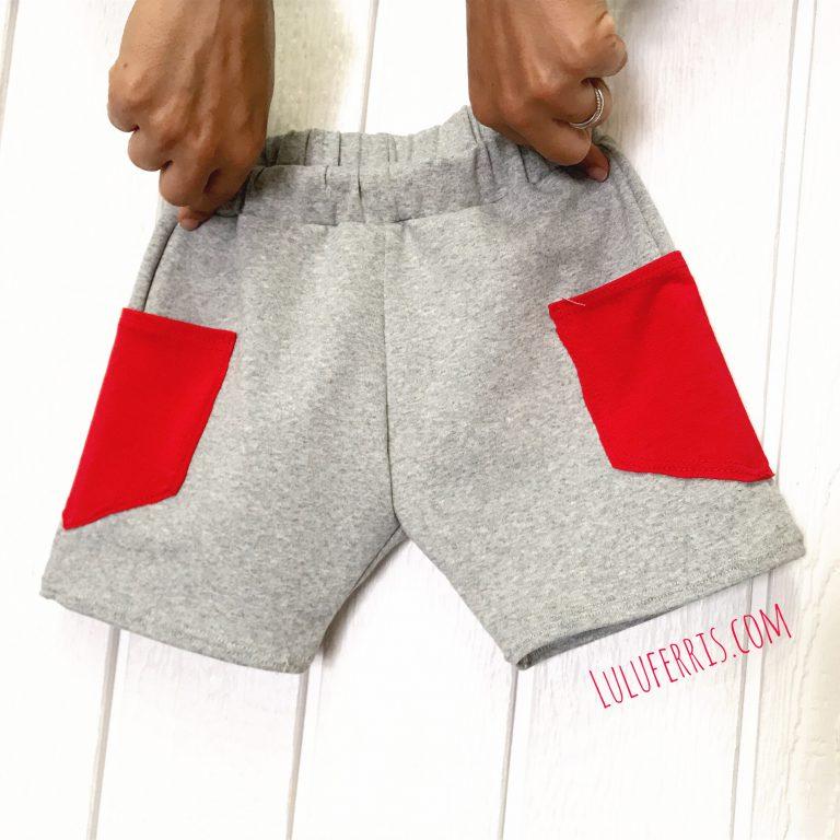 Pantalones Cortos para peques con Bolsillos