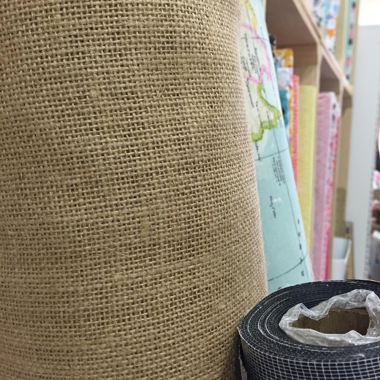 Tela arpillera tela de saco tienda talleres y cursos - Manualidades con tela de saco ...