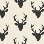 telas con diseño nórdico renos