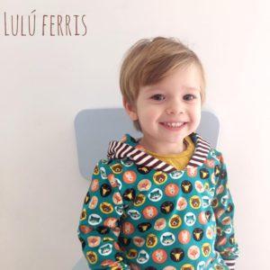 telas bonitas para niños sudadera