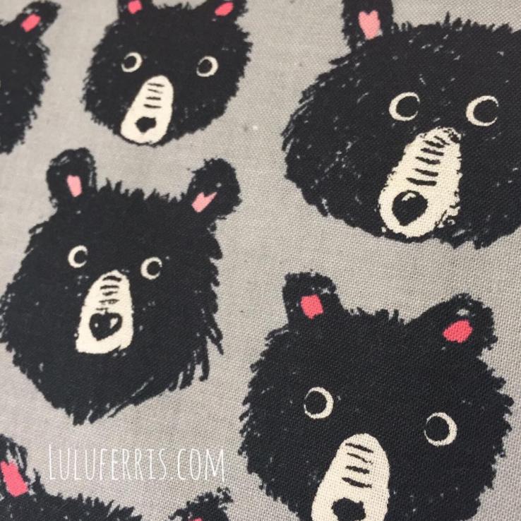 telas con animales osos