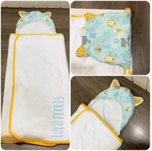 telas para niños toalla