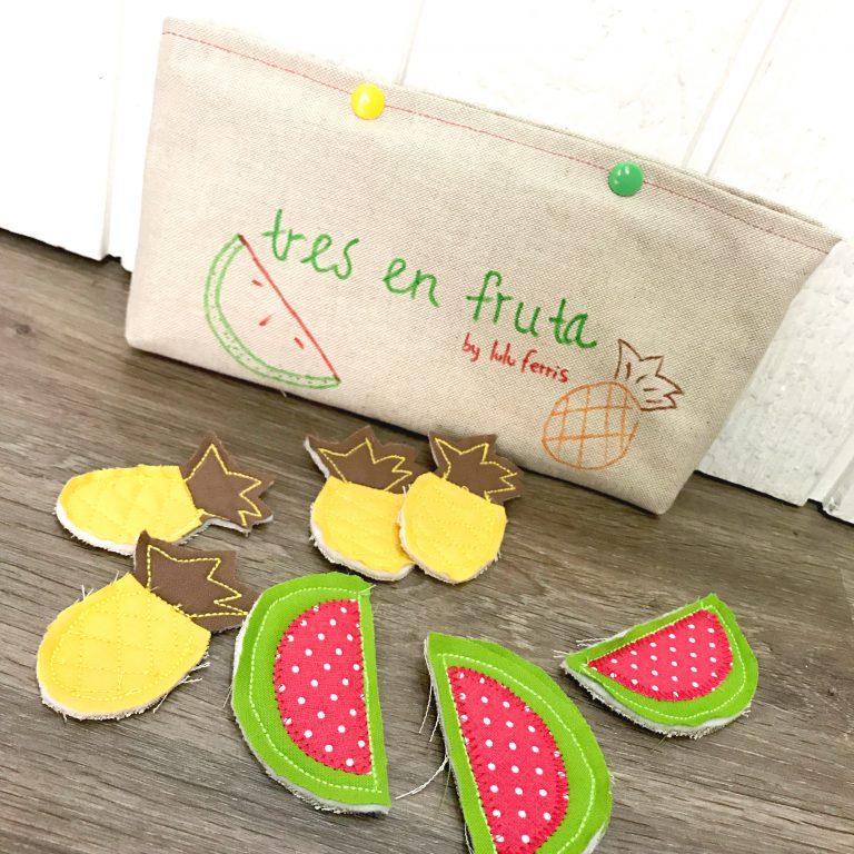 Juego para niños: ¿Quién conseguirá hacer tres en fruta?